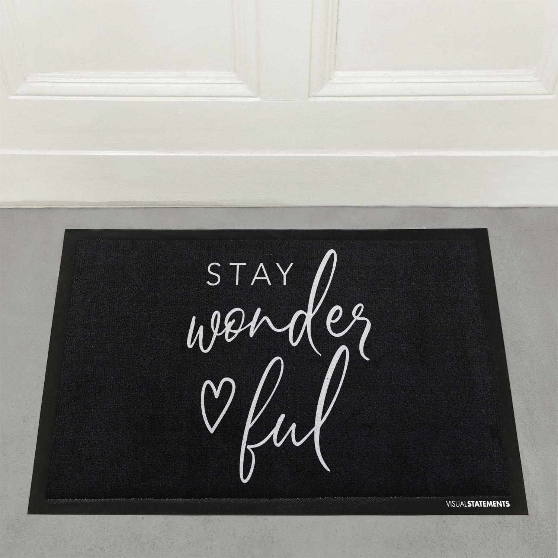 fu matten mit stil von visual statements visual statements. Black Bedroom Furniture Sets. Home Design Ideas