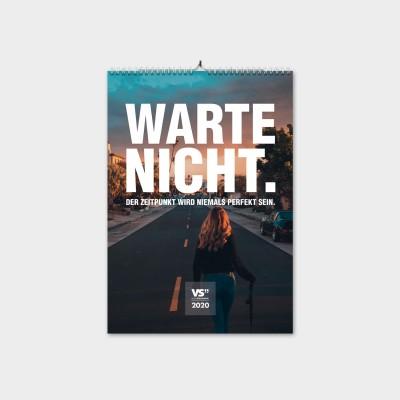 Wochenwandkalender 2020 A4 - Classic