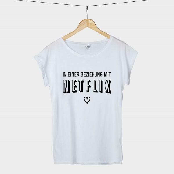 In einer Beziehung mit Netflix - Shirt