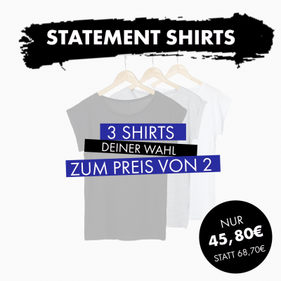 Shirts: 3 für 2 - Set 8