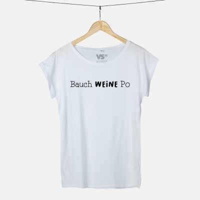 """Bauch Weine Po - VS"""" T-Shirt"""