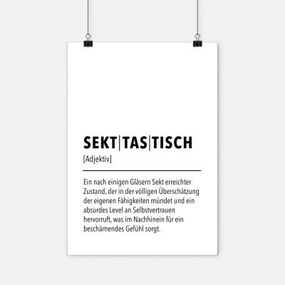 Poster Sektastisch