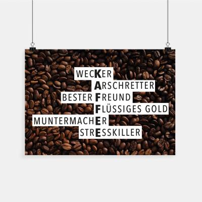 Kaffee - Poster wrdprn