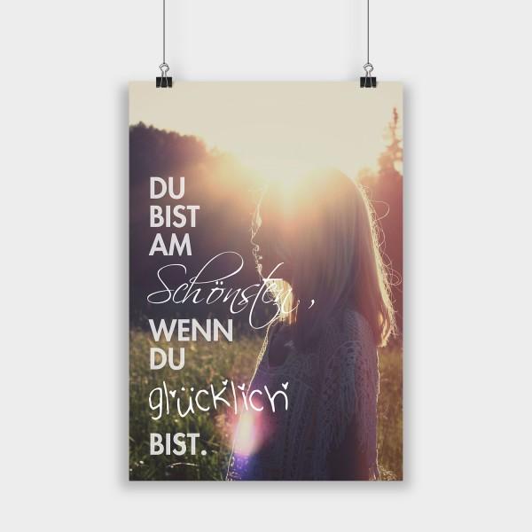 Du bist am Schönsten - Poster