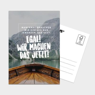 Machen! - Postkarte