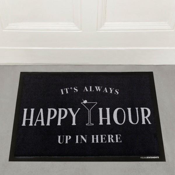 It's always happy hour - Fußmatte