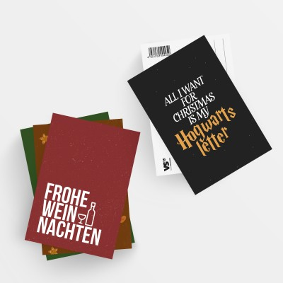20er Postkarten-Set - Weihnachten (2x 10 Motive)