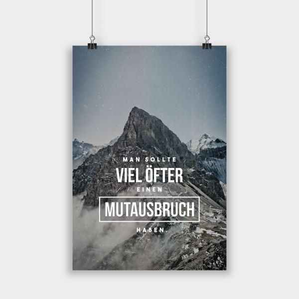Mutausbruch - Poster