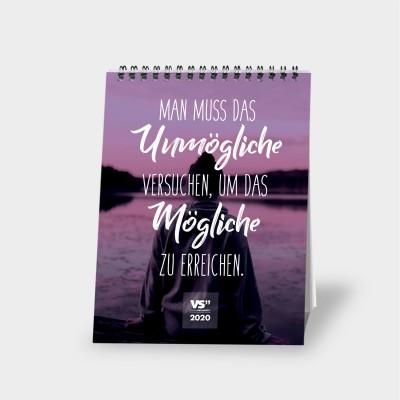 Monatstischkalender 2020 A5 - Best of