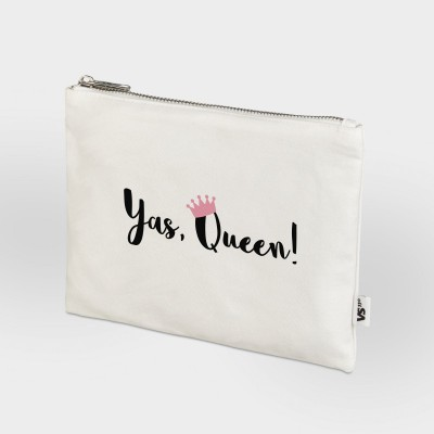 Yas, Queen - Zip Bag