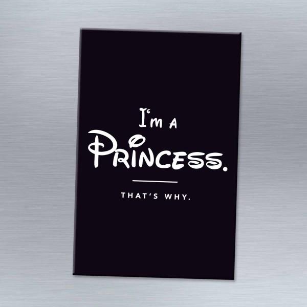 I'm a princess - Magnet