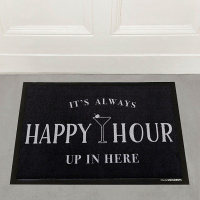 It's always happy hour - Fußmatte
