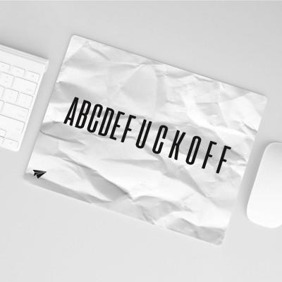 Mousepad Lieblingskollegen - ABCDE FUCK OF