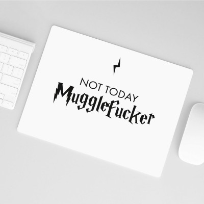 "Harry Potter Mousepad von VS"" - Not today Mugglefucker"