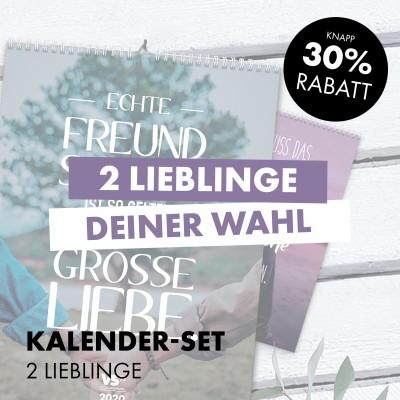Kalender-Set: 2 Lieblinge