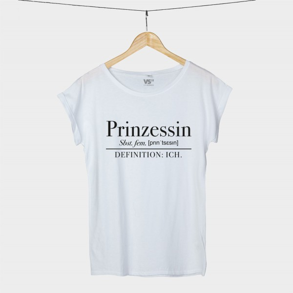Prinzessin Definition - Shirt