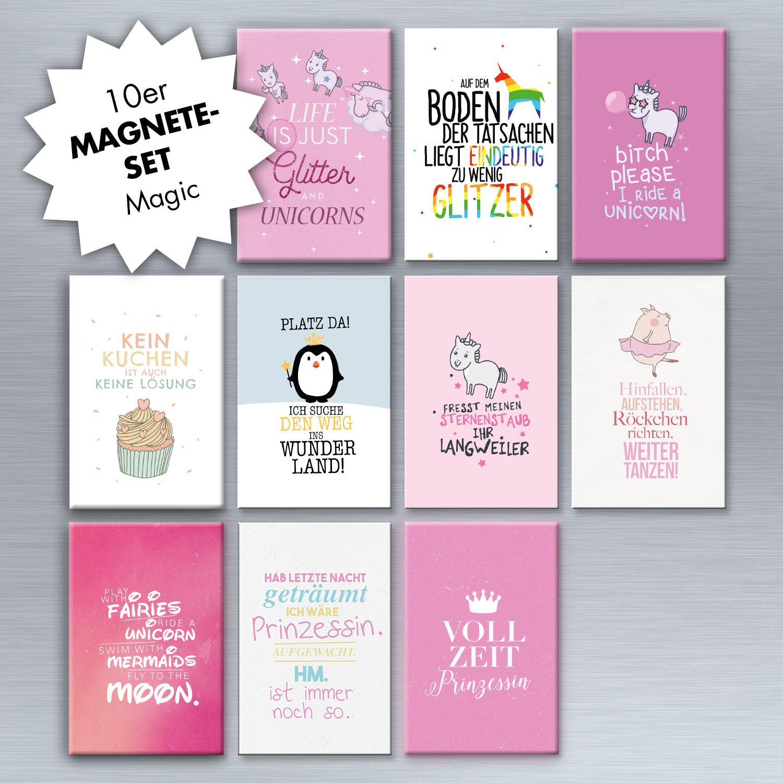 10er magnet set magic magnet set magnete wohnen visual statements. Black Bedroom Furniture Sets. Home Design Ideas