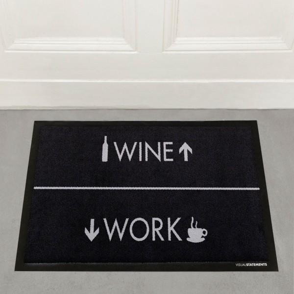 Wine/Work - Fußmatte