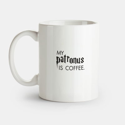 "VS"" Tasse - My Patronus is Coffee"