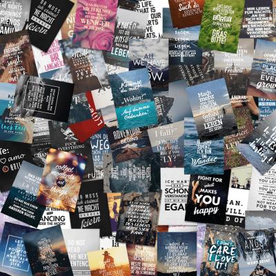 100er Postkarten-Set