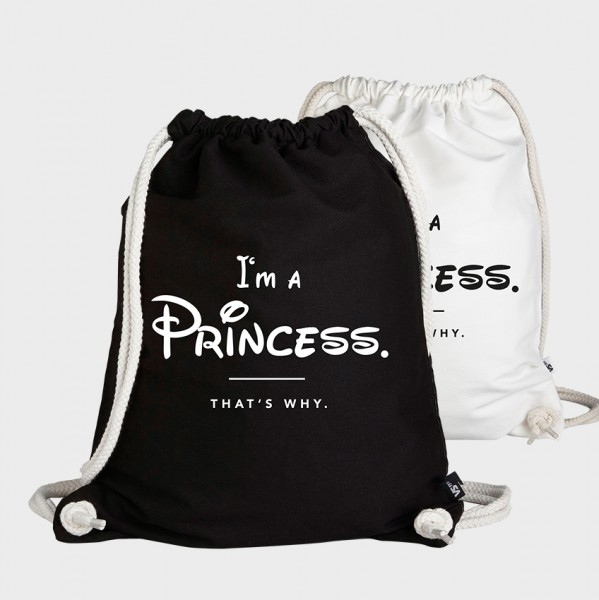 I'm a  Princess thats why - Turnbeutel