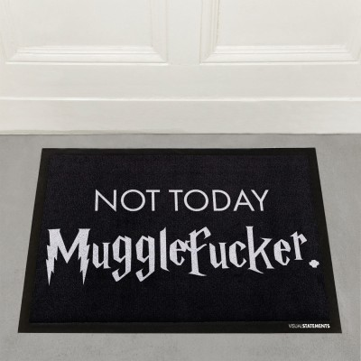 "Harry Potter Fußmatte von VS"" - Not today Mugglefucker"
