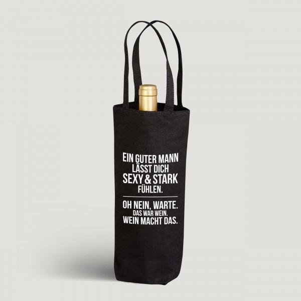 Ein guter Mann - Flaschenbeutel