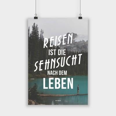 Reisen ist die Sehnsucht - Poster