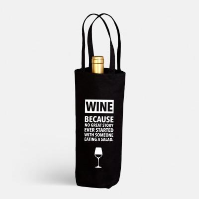 Flaschenbeutel wrdprn - Wine