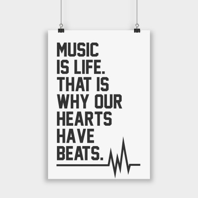 Music is life - Poster