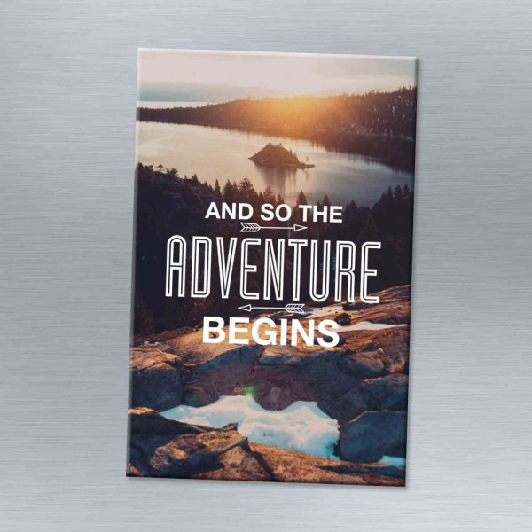 And so the adventure begins - Magnet