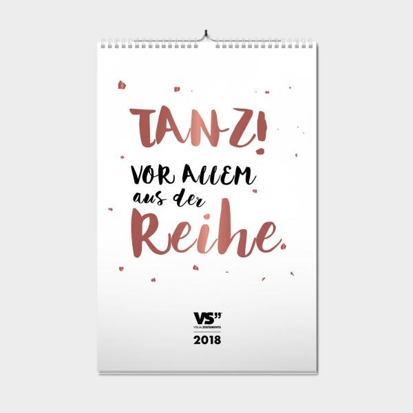 Traumtänzer / 2018 - Monatswandkalender