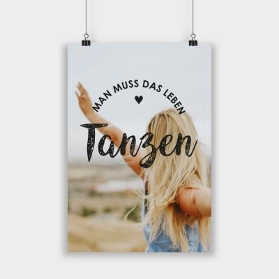 Man muss das Leben tanzen - Poster