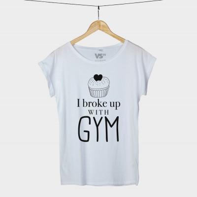 I broke up with gym - Shirt