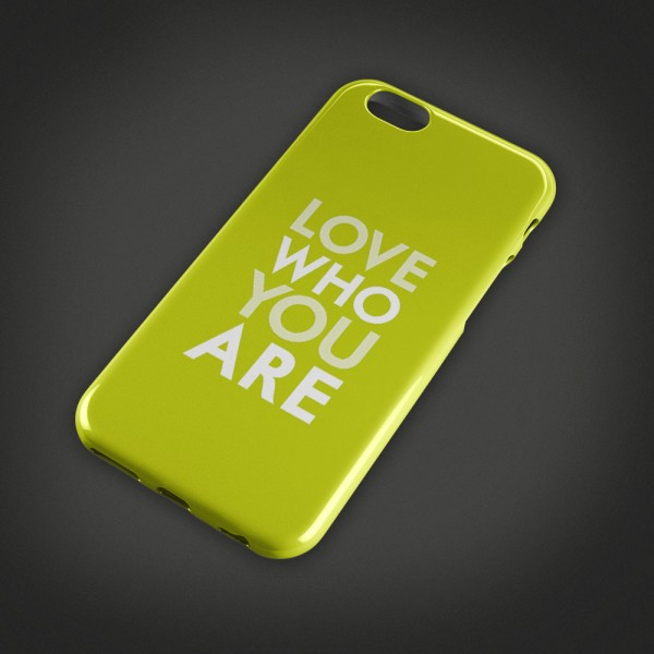 Love who you are - Handycover