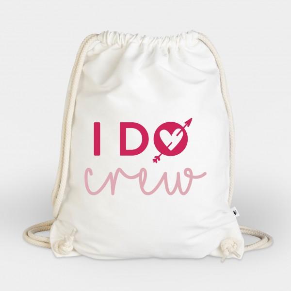 I do crew - Turnbeutel