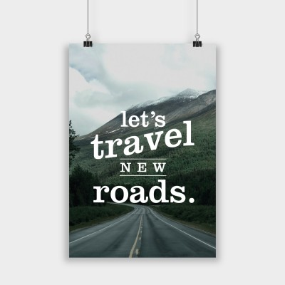 Let's travel new roads - Poster