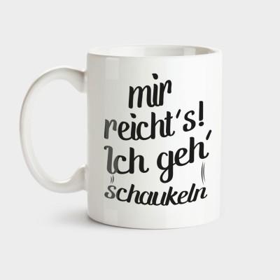 Schaukeln - Tasse