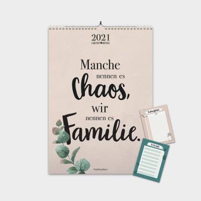 Familienkalender 2021 - Manche nennen es Chaos, wir nennen es Familie