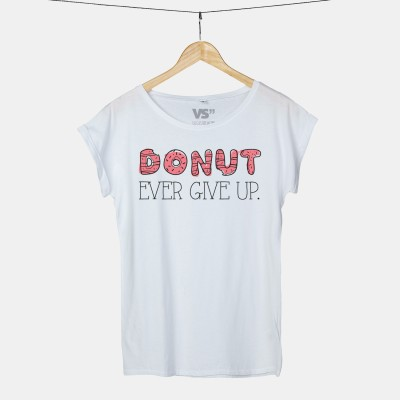 Donut ever give up - Shirt