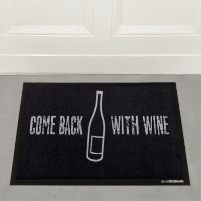 "VS"" Fußmatte - Come Back with wine"