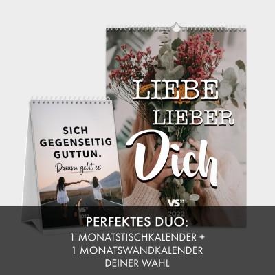 Kalender Set - Perfektes Duo