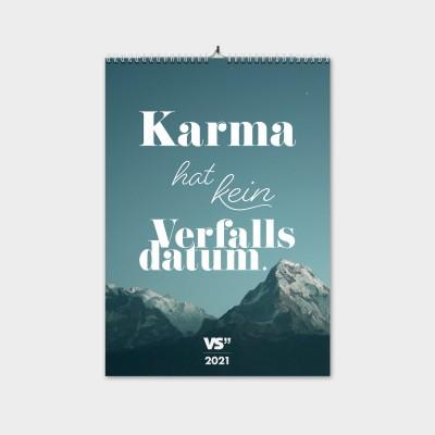"""Karma - Monatswandkalender 2021 - A3 - Kalender von VS"""""""