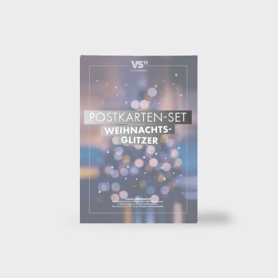 "Weihnachtsglitzer - Postkartenset von VS"""