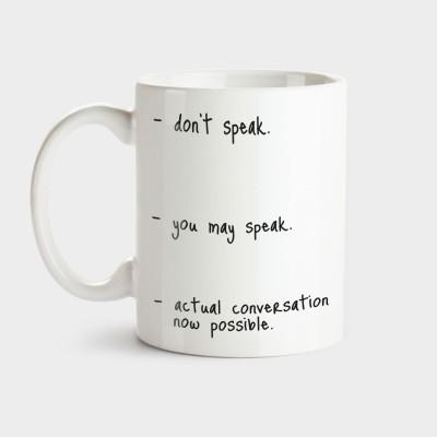 Don't speak - Tasse