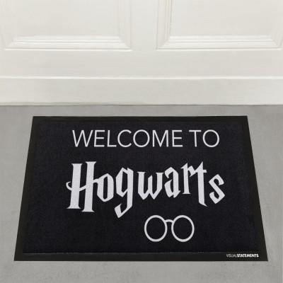 Welcome to Hogwarts - Fußmatte