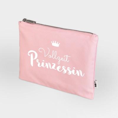 Kosmetiktasche rosa - Vollzeitprinzessin