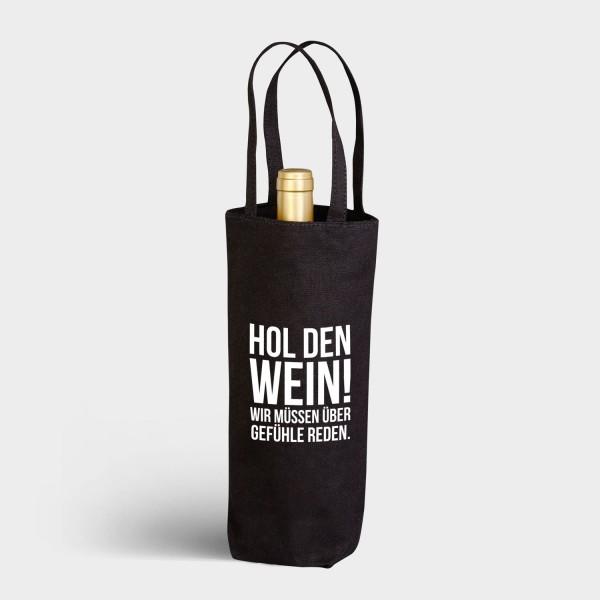 Hol den Wein - Flaschenbeutel