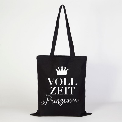 Vollzeitprinzessin - Stofftasche