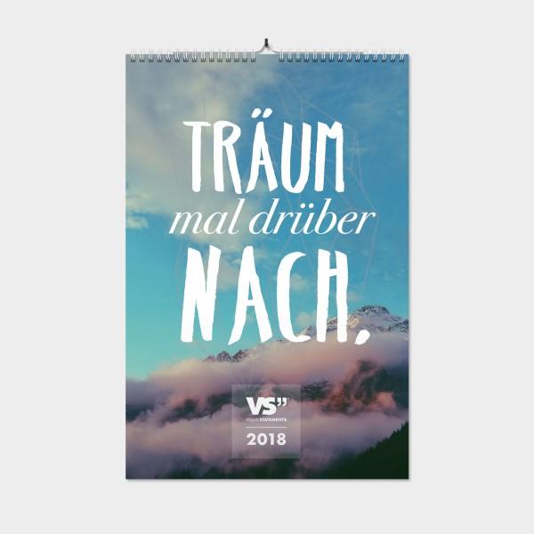 Tagträumer / 2018 - Wochenwandkalender